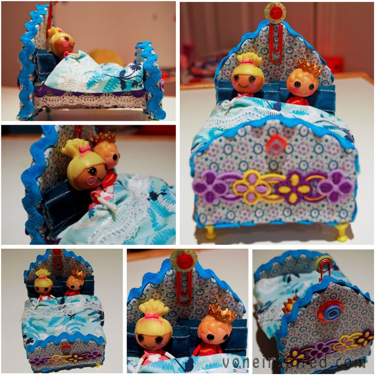 How to make LALALOOPSY BEDS from VoneInspired