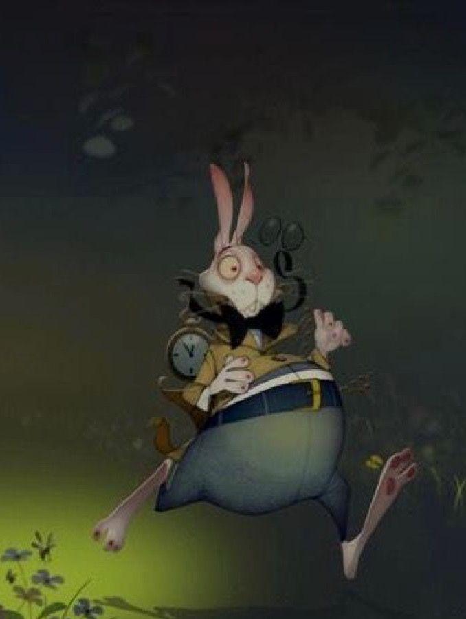 Oliver Tossan | White Rabbit (detail)