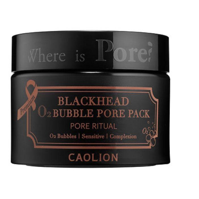 The Ten Best Blackhead Removal Products // #4 Caolion Premium Blackhead O2 Bubble Pore Pack #rankandstyle