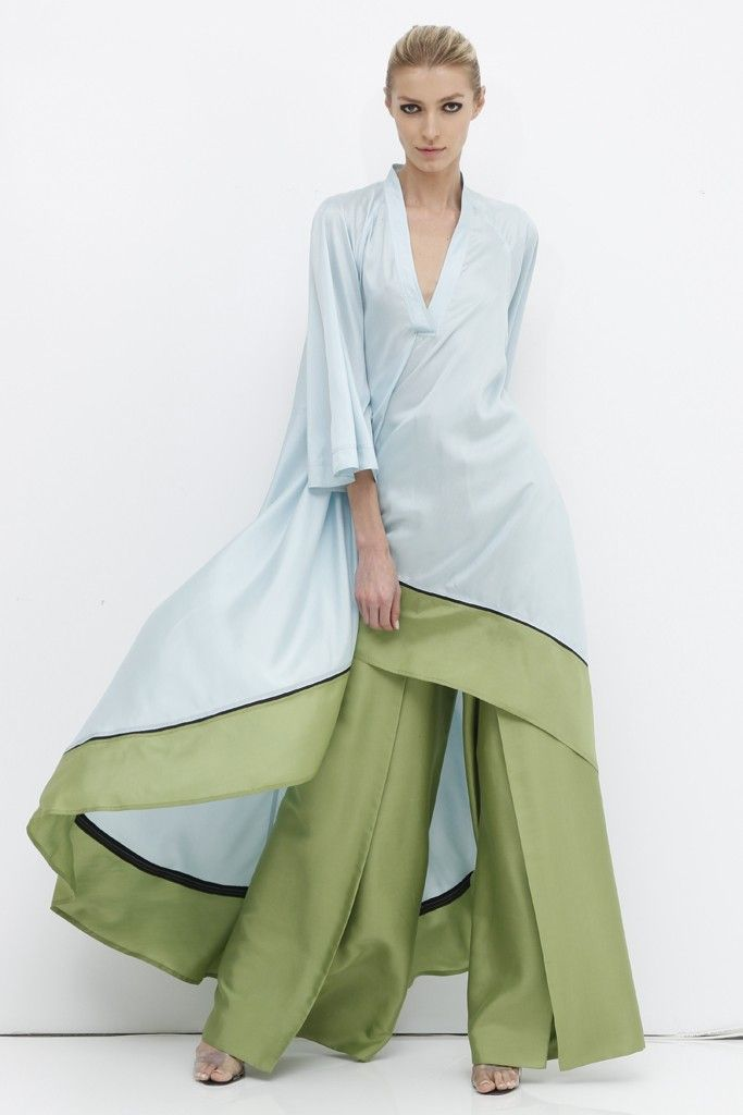 Chado Ralph Rucci Resort 2013 - I'd never have an occasion to wear this, but I really like it.