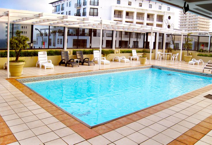 The Centurion All Suite Hotel   Cape Town, South Africa. Situated amid Sea Point's vibrant bustle, The Centurion offers easy access to the ever-popular V&A Waterfront and City Centre, where a variety of shops and excellent restaurants awaits your pleasure. The hotel's proximity to the azure waters of the Atlantic Ocean, with its alluring beaches and the many other natural wonders of the area, makes it the ideal base from which to experience the Cape.