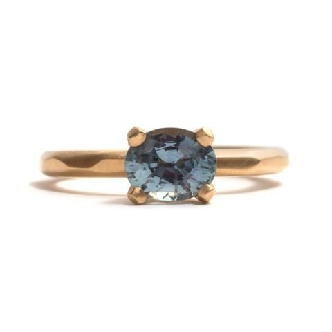 Oval Sapphire Soul Ring by Krista McRae