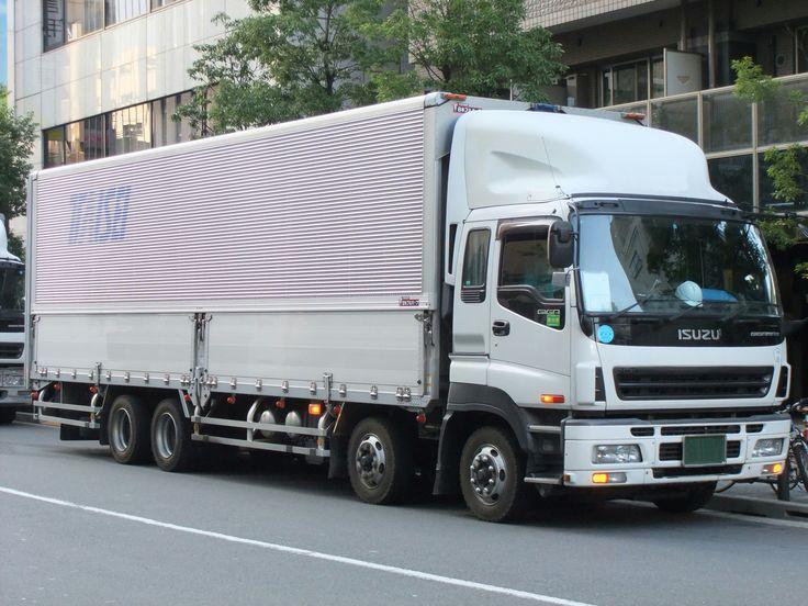 Isuzu Giga Gigamax   Heavyweight Party   Pinterest   Trucks
