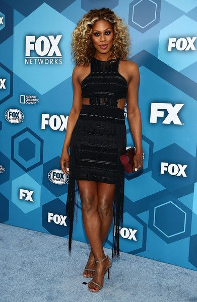 Actress Laverne Cox attends FOX 2016 Upfront.