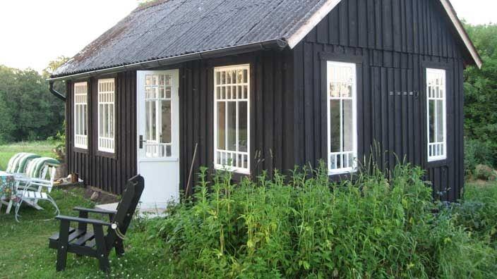 Nytt gästhus i gammal stil.