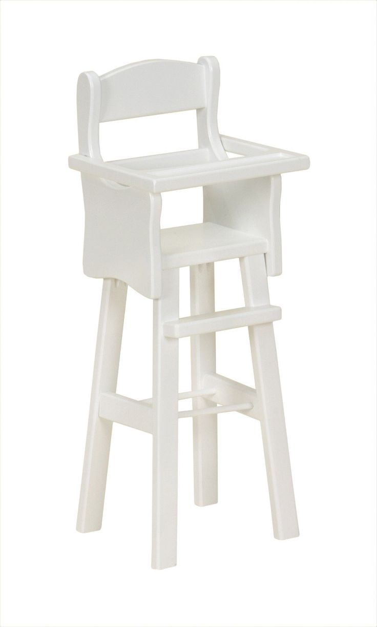 Amishmade wooden doll high chair rebekahs collection