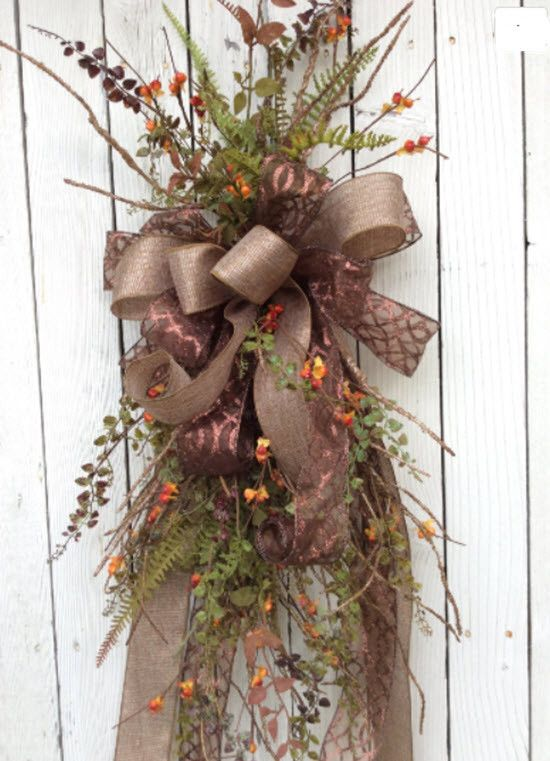 Lovely Fall swag is just perfect to welcome all of your guest for the entire…