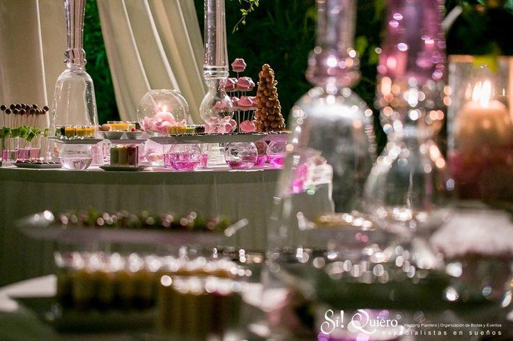 decoracion buffet dulce