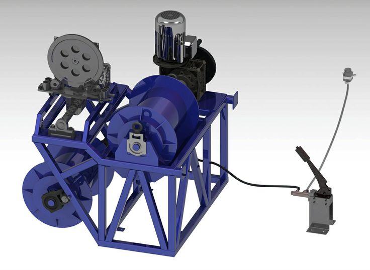 Спуско-подъемный агрегат ПКС-ПЭ