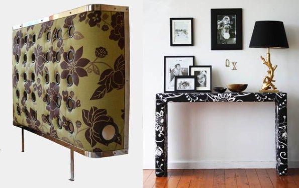Forrar muebles con tela es algo que se viene haciendo for Tela para forrar muebles
