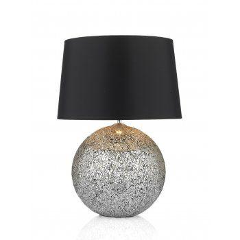 Glitter Ball GLI4232 table lamp medium size with black shade