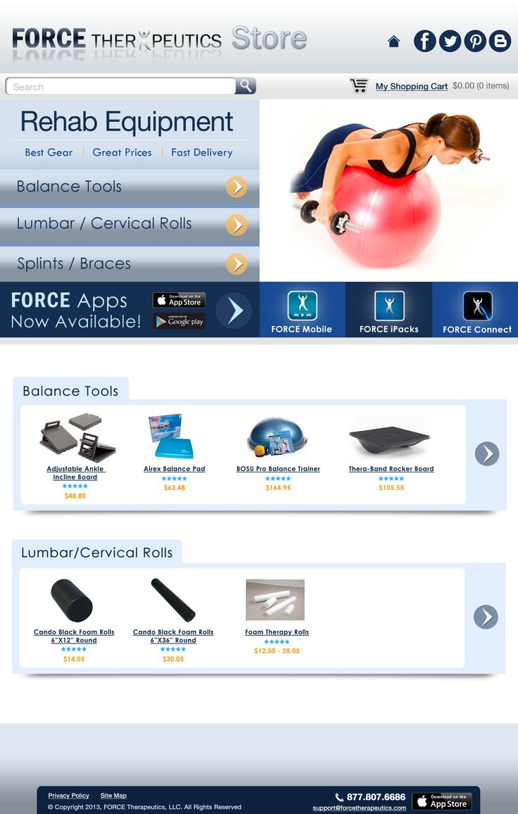 All the gear you need to recover: shop.forcetherapeutics.com