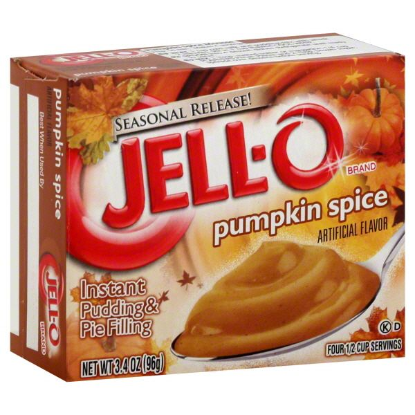 2014 Halloween Mdse Sightings In Stores: Jell-O Pudding & Pie Filling, Instant, Pumpkin Spice