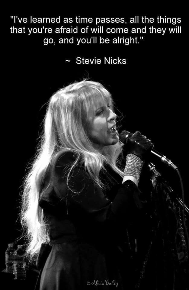 a Stevie mantra  ♫♥❤♥♫ - I truly love this woman. Beautiful in every way.