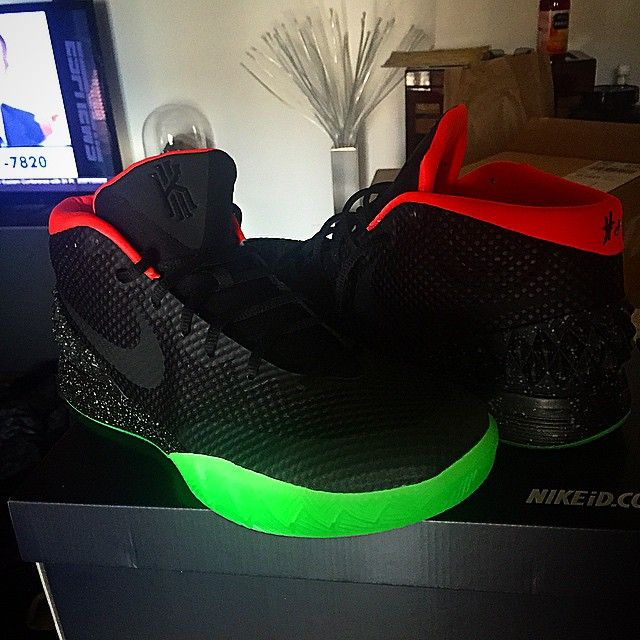 Hot Deal Nike Kyrie 1 Cheap sale iD Black White