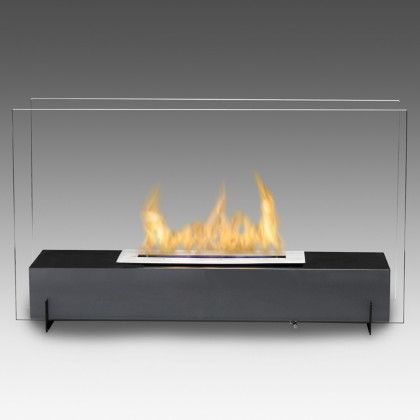 Shop and Save on the Vision I Freestanding Biofuel Fireplace and all other clean burning, Eco-friendly fireplaces with Free Shipping at Clean Flames!