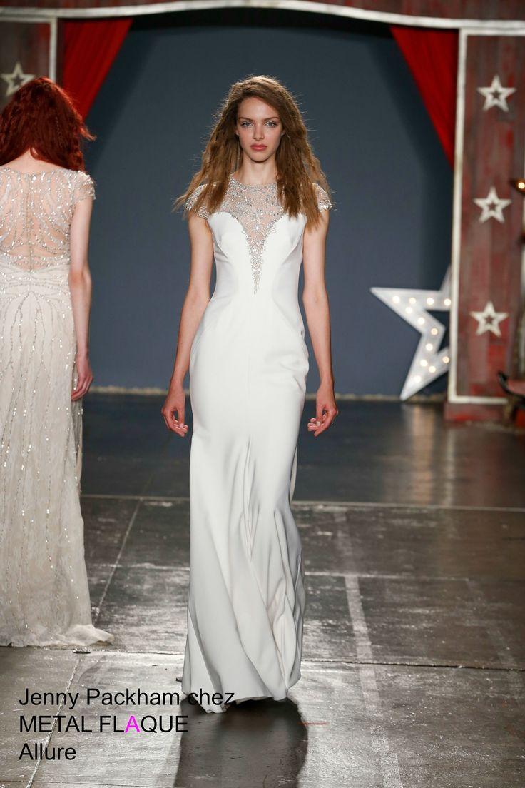 Allure, robe de mariée Jenny Packham à Paris.  #robedemariée #robesdemariée #weddingdress #weddingdresses #JennyPackham