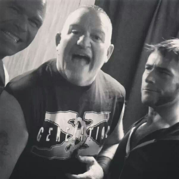 Cm punk and the new age outlaws