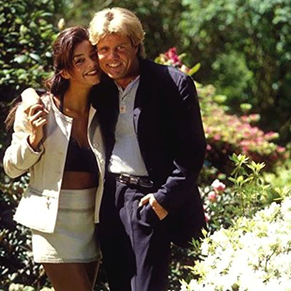 Dieter Bohlen And His Wife Verona Feldbush