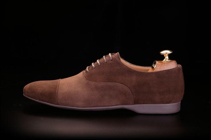 LodinG - Sneakers - Drive brown calf velvet box