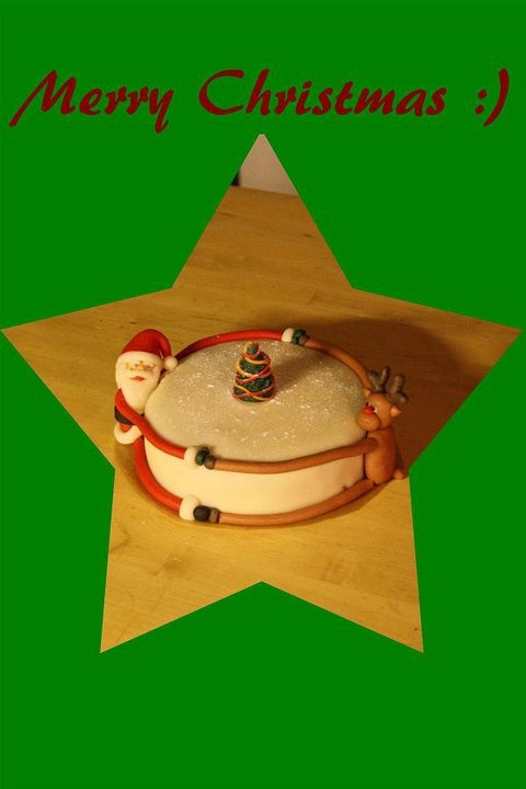 Merry Christmas cake :) Made by AMBD.