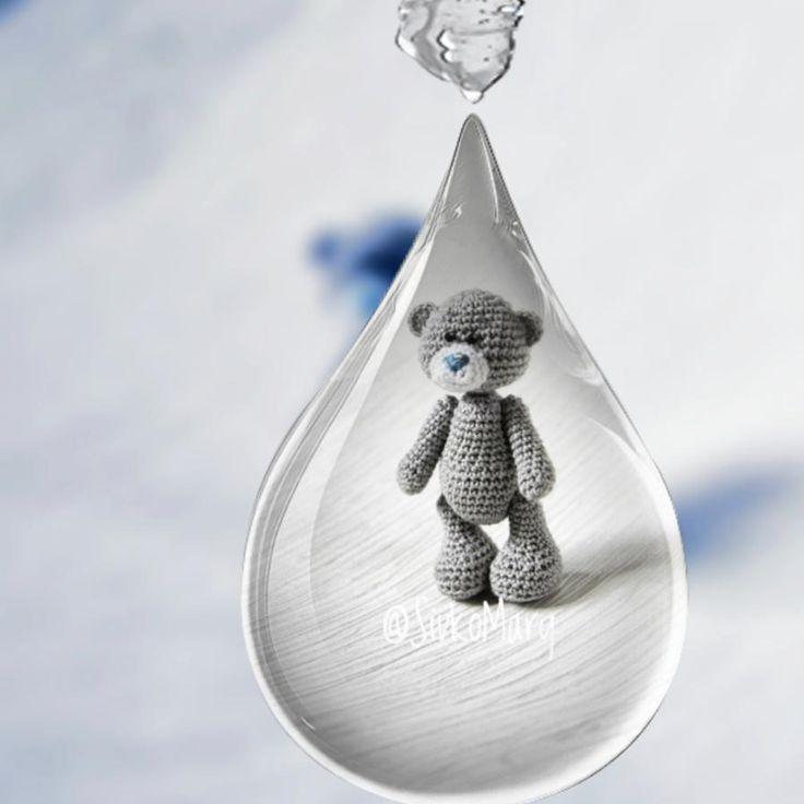 """243 Beğenme, 8 Yorum - Instagram'da Подарки, вязаные мини игрушки (@sivkomary): """"А с вами вновь прогноз погоды. В Москве и подмосковье дождь, В Уфе дожди, в Анапе дождик, В Санкт-…"""""""