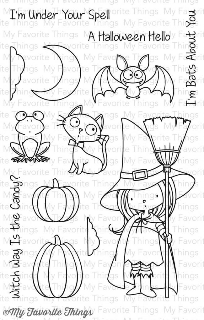 BB Witch Way Is the Candy?               My Favorite Things stamps           $15.99