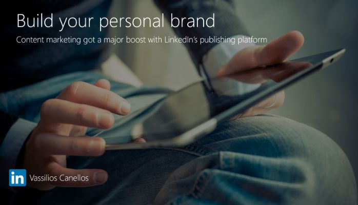 Build your personal brand and get seen using content marketing.
