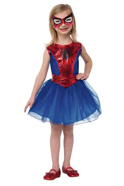 Adorable Spider-Girl Costume!  Who says Spiderman costumes are strictly for boys? http://mymamameya.com/spiderman-costume-for-kids/