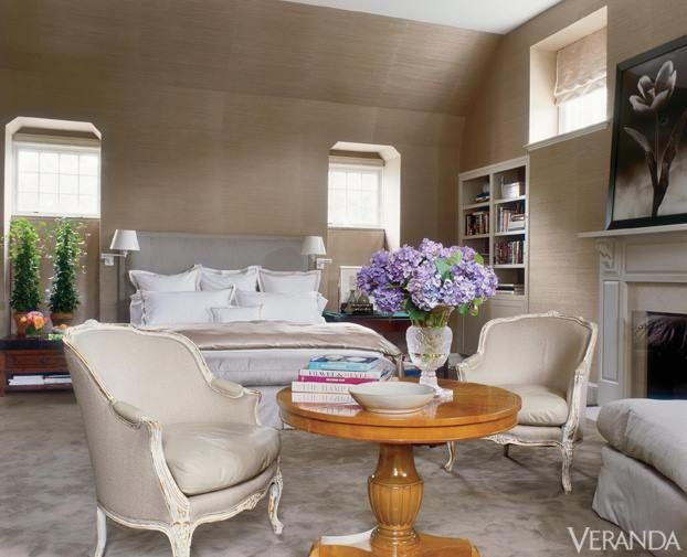Veranda Magazine Soothing Neutrals And Delicate Florals A Styled Living Space Pinterest