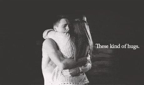 Czasami zwykłe przytulenie zdziała dużo więcej niż najlepsze lekarstwa –