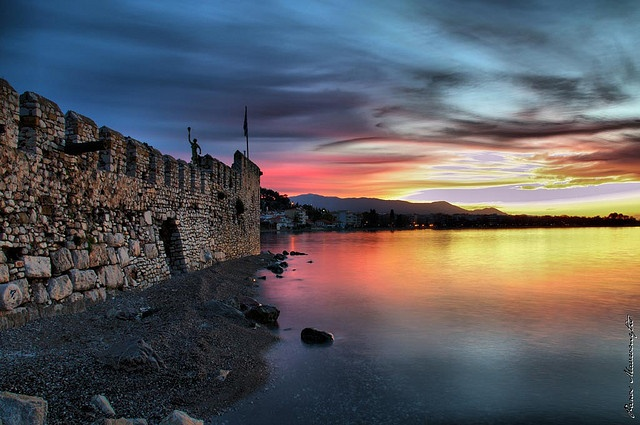 Port of Nafpaktos - Greece. Got engaged here! Amazing.