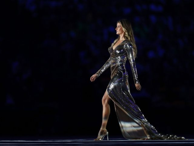 Gisele Sets A Record, Steals The Show At The Olympics Opening Ceremony
