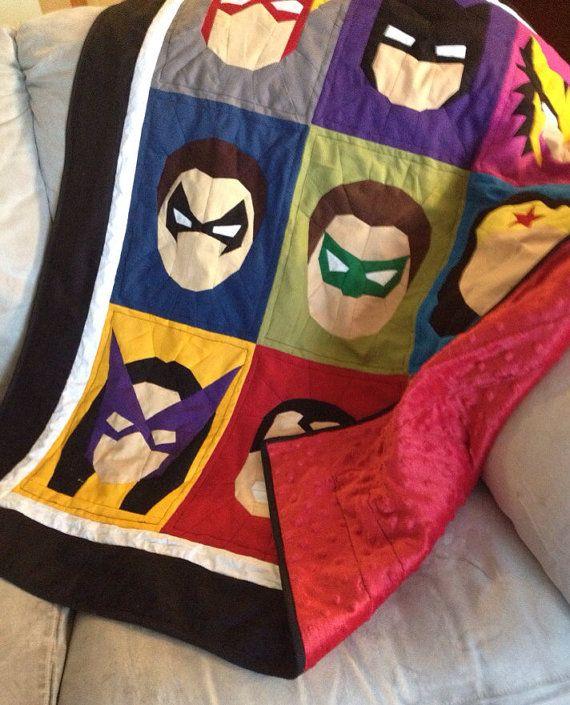 DIY Superhero Quilt Blocks - PDF