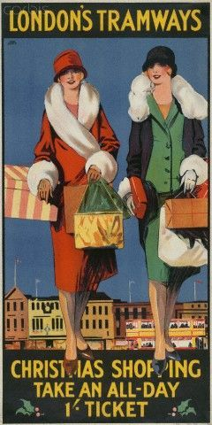 Christmas Shopping ~ Tony Castle