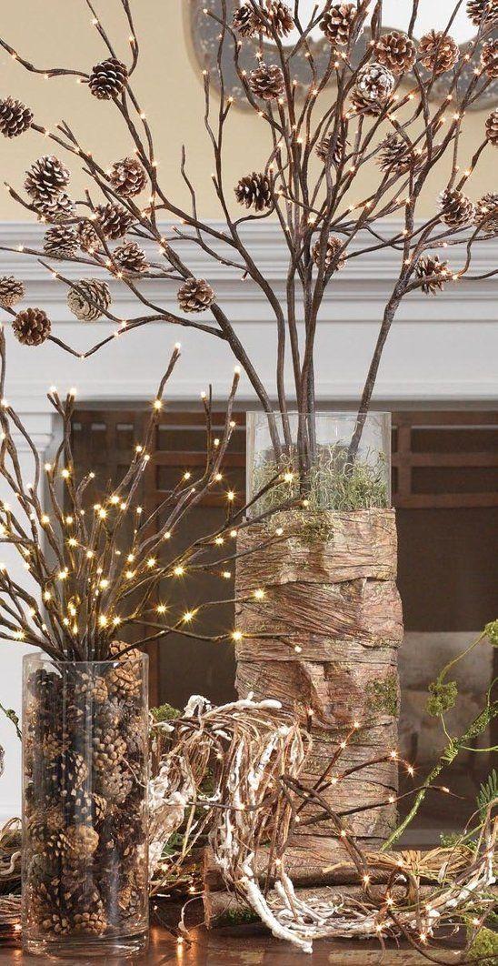 Winter-Deko-Ideen-zu-Hause-kiefernzapfen
