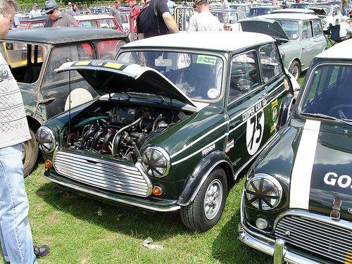 Cooper Car Co. original fuel injection