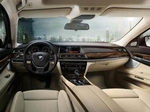 2016 BMW 750li Interior