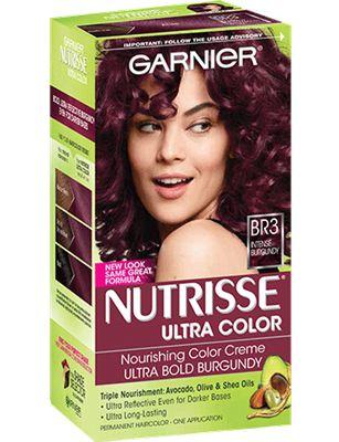 Hair Color || Nutrisse Ultra Color- Intense Burgundy (BR3)