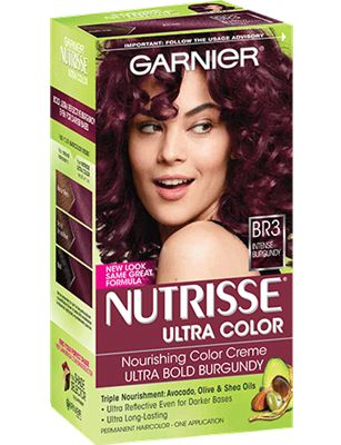 Hair Color || Nutrisse Ultra Color- Intense Burgundy (BR3)