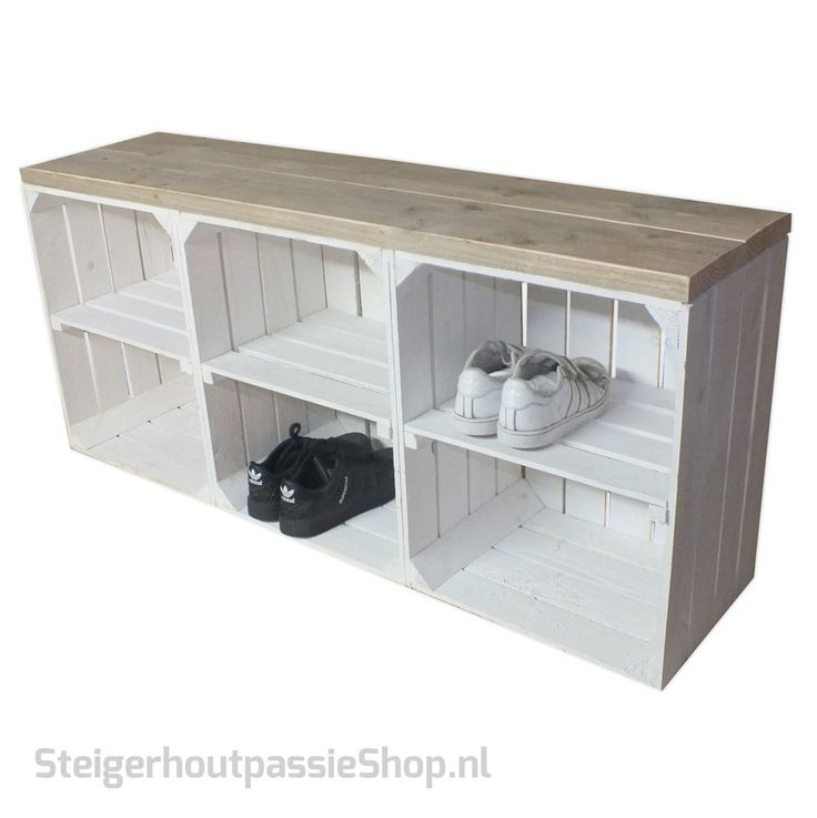 25 beste idee n over houten kisten op pinterest. Black Bedroom Furniture Sets. Home Design Ideas