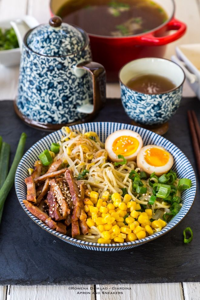 Apron and Sneakers - Cooking & Traveling in Italy and Beyond: Miso Ramen (with Homemade Ramen Noodles)