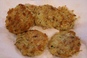 Recipe for La Madeline style potato galette
