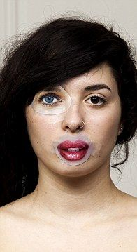 The artists say that the project, called ID, shows how beauty is no longer natural but socially conditioned.