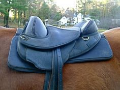How to check treeless saddle fit.