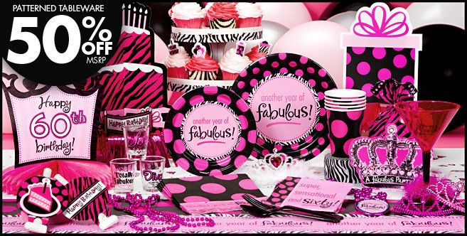 Another Year Of Fabulous 60th Birthday Party Supplies
