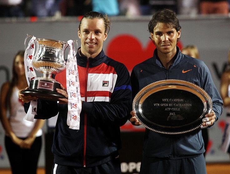 Horacio Zeballos / Rafael Nadal @JugamosTenis #tennis #tenis #ATP Viña del Mar