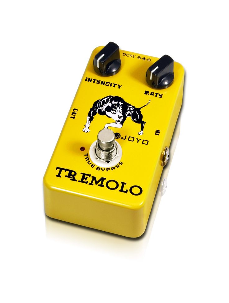 JOYO Tremolo Electric Guitar Pedal Tremolo Stompbox Of Classic Tube Amplifiers Intensity&rate knob Tone And Vibe Adjust Easily #Affiliate
