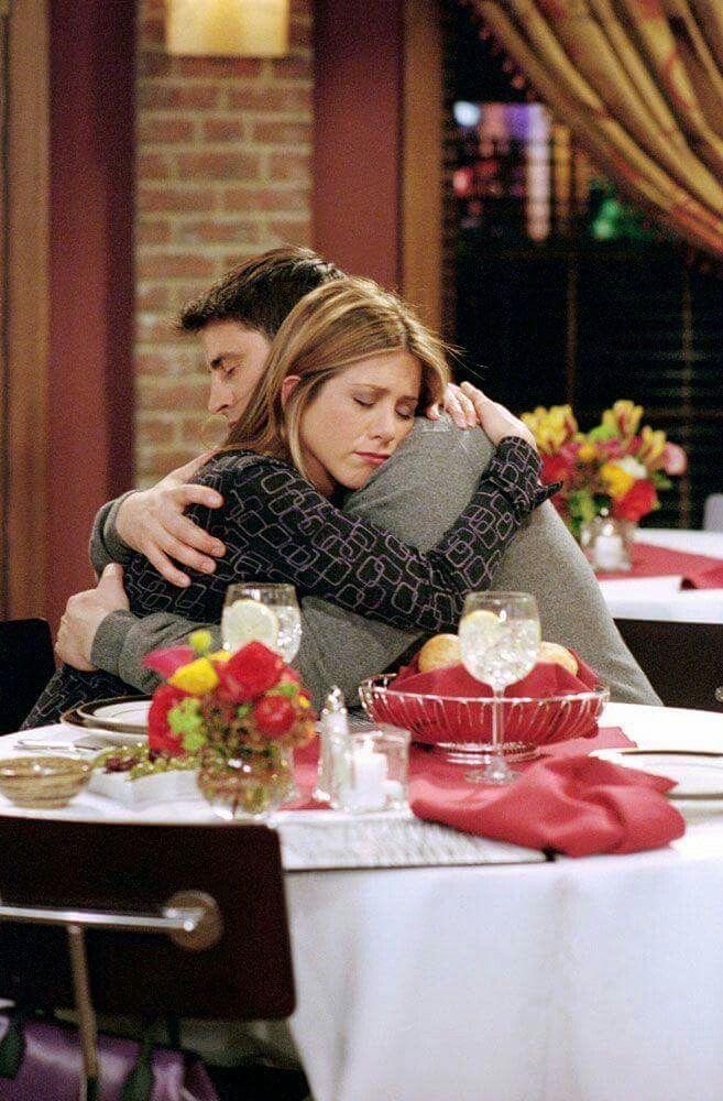 """I'm falling in love with you"" #joey #rachel #friends"