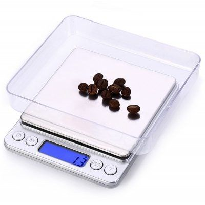 I-2000 Digital Balance Weight Jewelry Kitchen Scale, Balanza digital para cocina y joyería